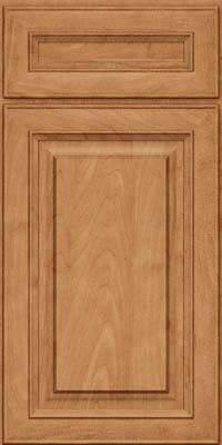 KraftMaid Cabinets -Square Raised Panel - Solid (RTM) Maple in Toffee from waybuild
