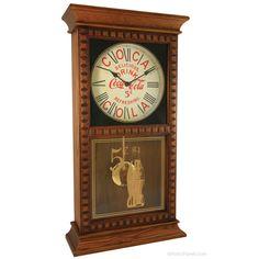 Hamilton Regulator Wall Mount 8 Day Pendulum Clock