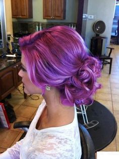 PANTONE Color of the Year 2014 - Radiant Orchid beauty This might cover the Gray