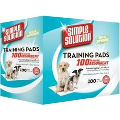 Puppy Training Pads will make house training your puppy much easier, so wave goodbye to the days of messy newspaper.Made from a super absorbent top layer with plastic backing and the added benefit of a pet attractant to make training your puppy simple and easy.  Also suitable for adult and senior dogs, in particular house dogs, Puppy Training Pads offer a simple way to protect the home from stains and odours.