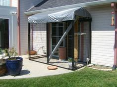 How To Build A Catio Pictures to