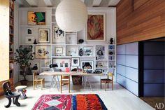 Inez Van Lamsveerde and Vinoodh Matadin's NY apartment, photo Simon Watson