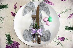 MENTŐÖTLET - kreáció, újrahasznosítás: Nyuszis húsvéti terítés