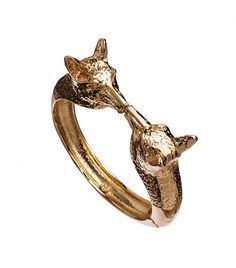 Fox Head Hinge Bracelet