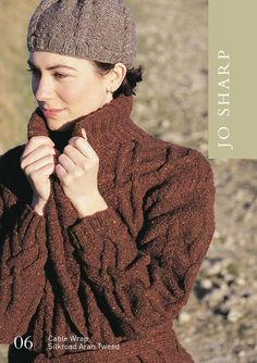 Jo Sharp Direct--Jo Sharp--Cable Wrap and Hat