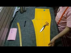 Hi Friends, In this video, you will learn how to cut Palazzo Pant cutting