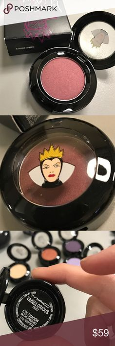 MAC Venomous Villains Vainglorious eyeshadow NIB! Gorgeous deep bronzed burgundy with a frost finish. This one's a beauty! From the Venomous Villains collection, LE D/C. NIB. MAC Cosmetics Makeup Eyeshadow