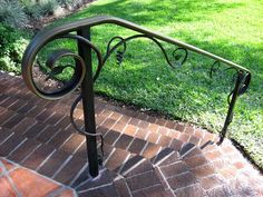 Outdoor Metal Stair Railings Handrails