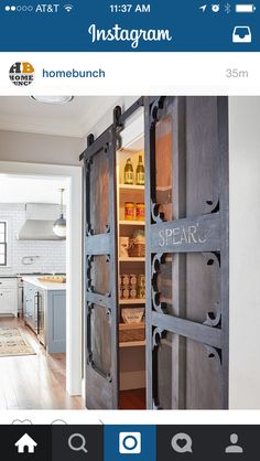 Installing interior barn door hardware can transform the look of your room. Read these steps in buying interior barn door hardware. Pole Barn Homes, Pole Barns, Antique Doors, Barn Door Hardware, Door Hinges, Luxury Interior Design, Modern Interior, Home Remodeling, Kitchen Remodeling