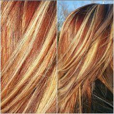 Copper and blonde ♡cierawillis