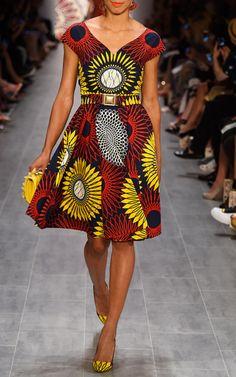 Lena Hoschek   Sunflower Makeba dress