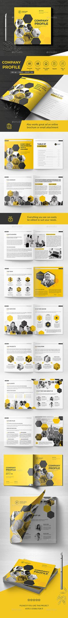 Square Company Brochure 20 Pages