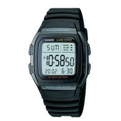 Casio Men's Classic Sport Watch - Black - W96H-1BV