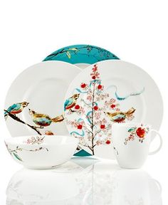 Lenox Simply Fine Chirp Collection - Dinnerware - Dining & Entertaining - Macy's