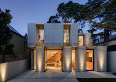 L'entreprise australienne Nobbs Radford Architects a réalisé cette superbe extension sur une maison à Sydney. Cette annexe de deux étages pe...