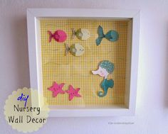 Nursery Room Wall Decor