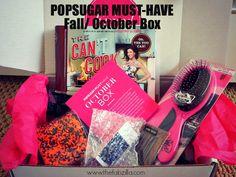 The Reveal: Popsugar Must- Have October/Fall Box #popsugar
