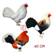 Custom plush model fighting roosters manufactured by masters of handmade studio Art-Berloga Bunny And Bear, Roosters, Handmade Toys, Art Studios, Philippines, Plush, Rooster, Artist Studios
