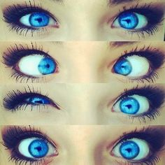 UHHHH !!! Her eyes !! I would kill to have those eyes !!! <3