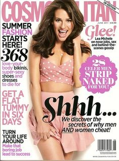 Lea Michele Talks About Her Own High School Experiences, Nose Job Rumors in Cosmo UK Tapas, Magazine Cosmopolitan, Lea Michele Glee, Horoscope Love Matches, Lea And Cory, Passion For Life, Body Love, Flat Tummy, Celebs