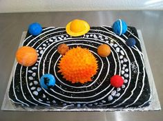 solar system cake my friend made (Melissa Tolleson) ... love it!!