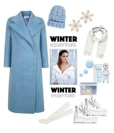 """Ready Winter"" by narazz ❤ liked on Polyvore featuring Emma Watson, The 2nd Skin Co., Aéropostale, Brioni, Eugenia Kim, John Lewis, Puma, Topshop, Marc Jacobs and Anastasia Beverly Hills"