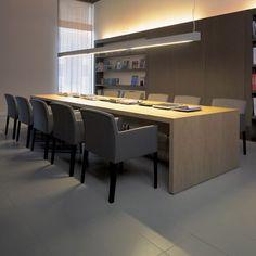 Perspectiva ilustrada da sala de reuniao offices for Interior oficinas modernas