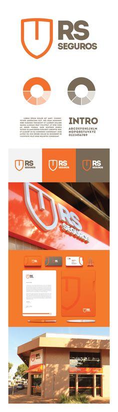 Redesign de marca para a corretora RS Seguros / www.kadabra10.com