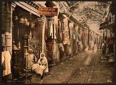 Vielle photo de Tunis au 19eme siècle