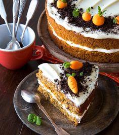 Koskenlaskijan juustopaistos | Reseptit | Kinuskikissa Carrot Cake, I Love Food, Yummy Treats, Tiramisu, Oreo, Carrots, Cheesecake, Cupcakes, Baking