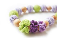 Teething necklace/ Nursing necklace for Mommy by NecklacesForMommy, $30.00