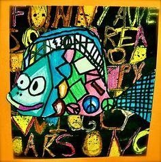 Paul Klee Fish Art Lesson