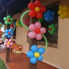 balloonn decoration Archives - Page 5 of 1816 - Decorationn Birthday Balloon Decorations, Balloon Crafts, Birthday Balloons, Hanging Balloons, Balloon Garland, Deco Ballon, Trolls Birthday Party, Balloon Flowers, Baby Shower Balloons