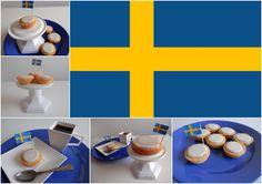 Mazariner - Swedish almond pies - Švédské mandlové koláčky Swedish Recipes, Baking Recipes, Almond, Sweet Treats, Foods, Breakfast, Ethnic Recipes, Cooking Recipes, Food Food