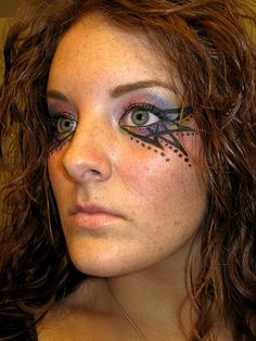tribal witch makeup 024 by SearMeCarefully, via Flickr