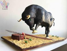 Bull (Animal Rights Collaboration) - Cake by Urb&Cakes