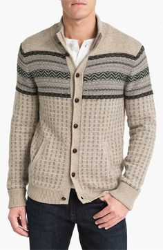 See henley undeneath.  life/after/denim 'Arno' Sweater | Nordstrom