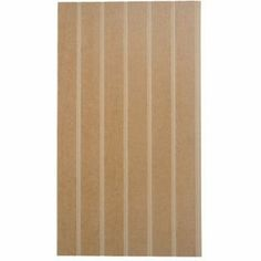 EASIpanel Tongue and Groove Standard Panel - 915x516mm from Homebase.co.uk, painted white