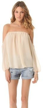 Tbags los angeles Off the Shoulder Blouse on shopstyle.com
