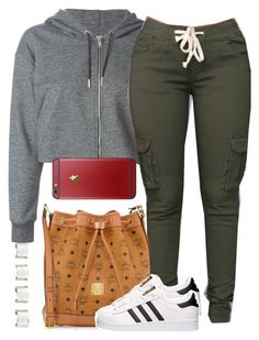"""""""Untitled #304"""" by tdgaaf on Polyvore featuring Golden Goose, MCM, adidas and Maison Margiela"""