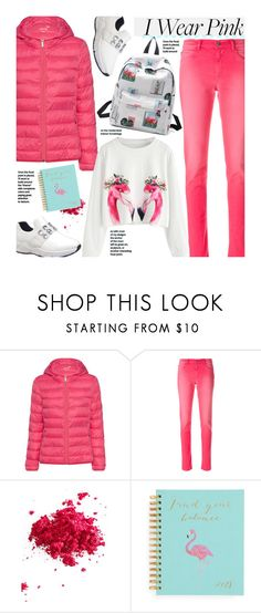 """""""Untitled #3918"""" by beebeely-look ❤ liked on Polyvore featuring Juvia, Alyx, Obsessive Compulsive Cosmetics, casual, school, Pink, sammydress and schooloutfit"""