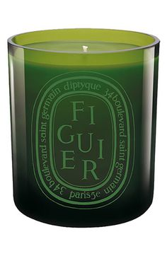 If you're going to fall back on a scented candle, pick a classic scent from a classic company. Diptyque 'Figuier'.
