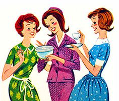 What was a 'girl's night out' in the 1960s?...A Tupperware party! That's my kinda girls night out!! (Or a Bible study or a cooking party)