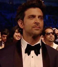 Hrithik Roshan's smoldering eyes @ the iifa 2014 awards in Tampa Bay, Florida. <3