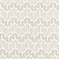 Art Puzzle Design Tan Lace Fabric by the Yard for by LaceFabrics