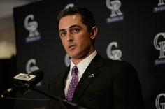 ---The Colorado Rockies hire Jeff Bridich as the new General Manager for the organization. He plans to rebuild the staff in an attempt to turnaround the Rockies four year season losing skid. Bridich is well versed in the language of baseball, playing for four years at Harvard. A whole revamp of the system is risky but the specifics of his plan are not yet revealed. Perhaps he is just the man to help the Rockies bounce back.