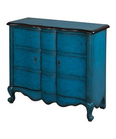 Blue Scalloped Chest by Powell Company