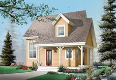 Cottage Style Home Design
