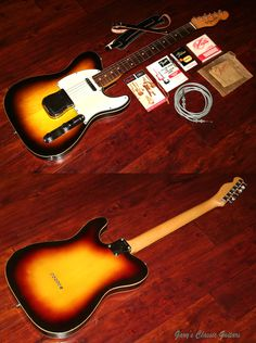 1960 Fender Custom Telecaster with numerous rare hangtags & an amazing assortment of case candy!