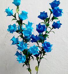 Paper Flowers - Campanula / Canterbury Bells / Bell Flower